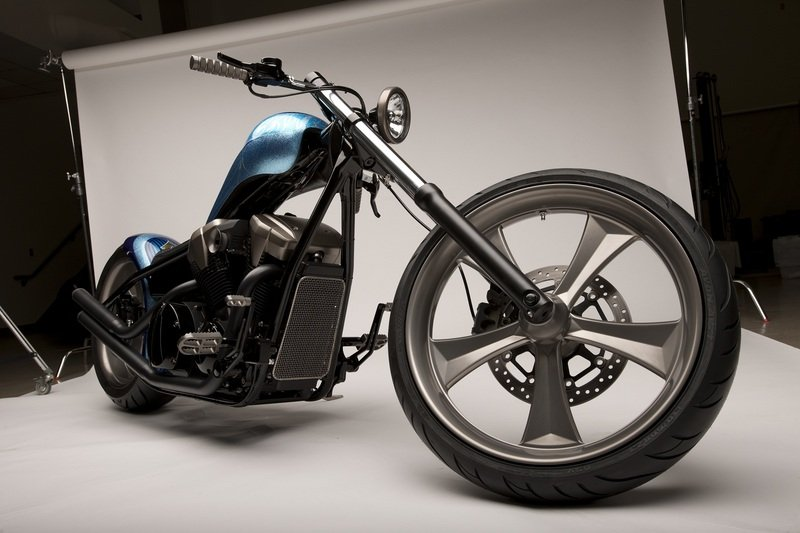 2011 Honda Fury Furious Hardtail Chopper Concept