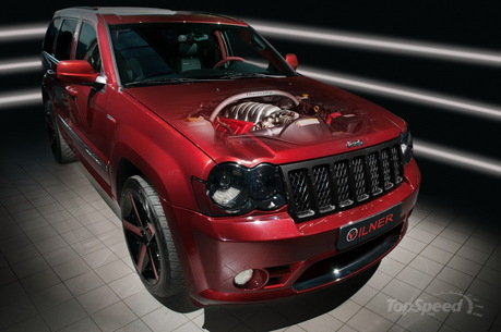 Jeep Grand Cherokee SRT600 by Vilner