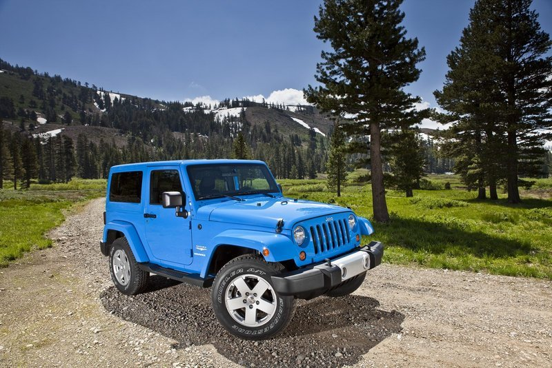 2012 Jeep Wrangler High Resolution Exterior - image 413443