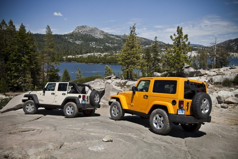 2012 Jeep Wrangler High Resolution Exterior - image 413445