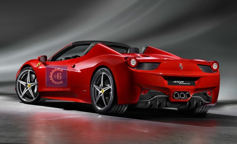 Possible leaked photos of Ferrari 458 Spider find their way on the 'Net