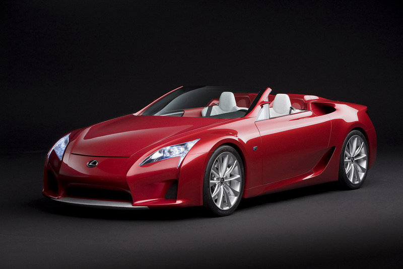 Lexus sedans will be refreshed in 2013: LF-A Roadster coming in 2014