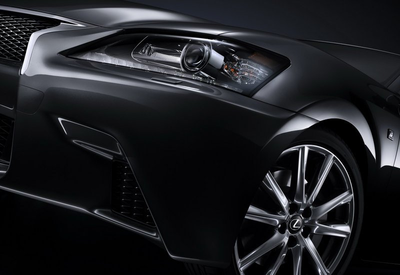 Lexus releases teasers for the GS-F and GS450h