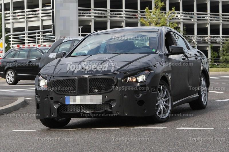 Mercedes CLC spied testing