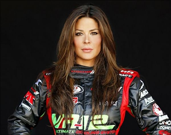 Model Maryeve Dufault Looking At A Career In NASCAR News ...
