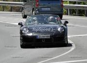 Spy Shots: 2013 Porsche 911 Turbo Takes Its Top Off! - image 410955