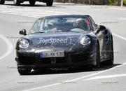 Spy Shots: 2013 Porsche 911 Turbo Takes Its Top Off! - image 410956