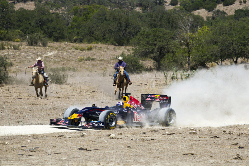 Red Bull Racing runs wild in the Lone Star State