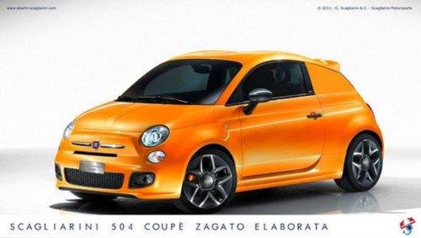 fiat 500 coupe zagato by scagliarini picture