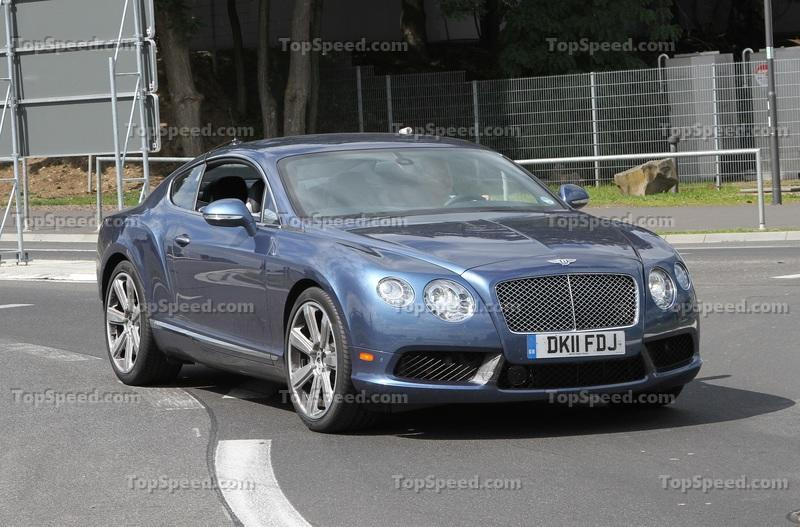 Spy Shots: 2013 Bentley Continental GT Speed Completely Naked