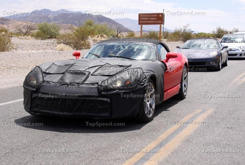 Spy Shots: 2013 Dodge Viper