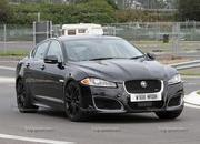 Spy Shots: 2014 Jaguar XFR-S Plays with its XKR-S brethren - image 412870