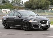 Spy Shots: 2014 Jaguar XFR-S Plays with its XKR-S brethren - image 412871