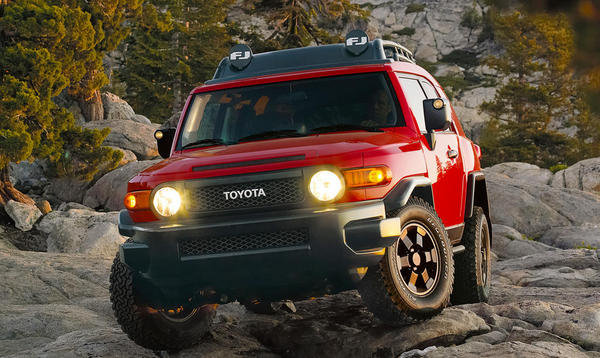 2012 toyota fj cruiser trail teams special edition review. Black Bedroom Furniture Sets. Home Design Ideas