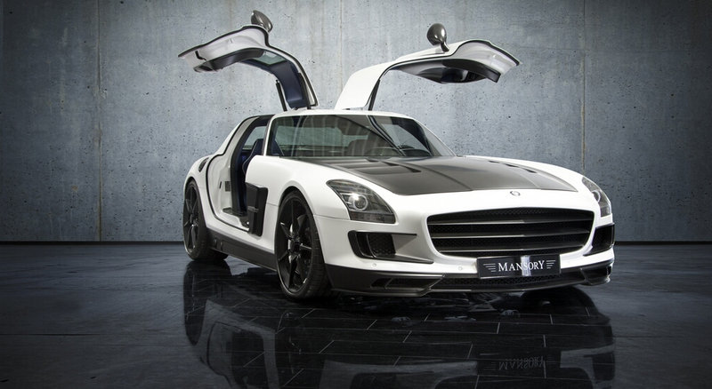 2011 Mercedes SLS AMG by Mansory