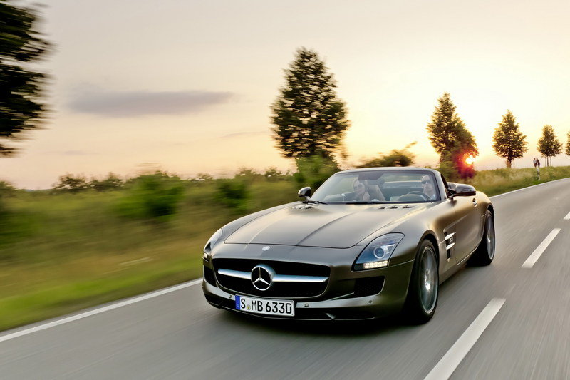 2011 Mercedes SLS AMG Roadster High Resolution Exterior Wallpaper quality - image 418049