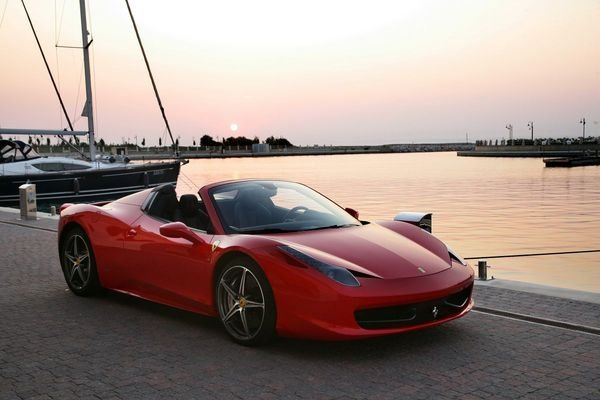 2012 ferrari 458 italia spider car review top speed. Black Bedroom Furniture Sets. Home Design Ideas
