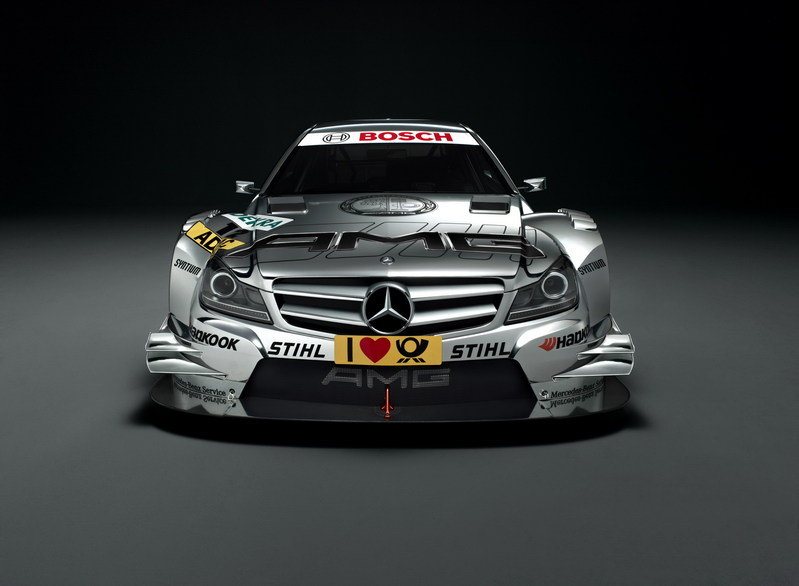 2012 Mercedes C-Class Coupe DTM AMG High Resolution Exterior - image 416640