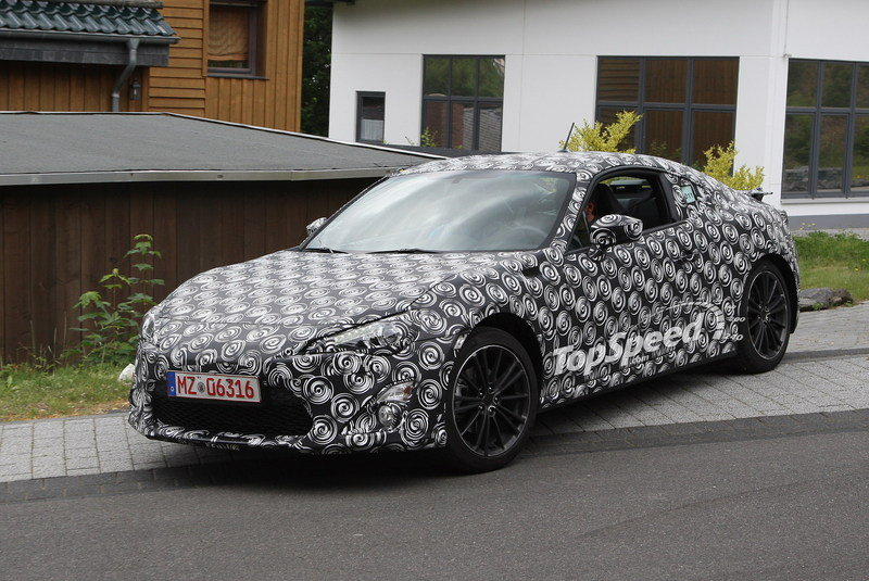 Camouflaged Subaru BRZ Caught Testing; Expect Concept at Frankfurt
