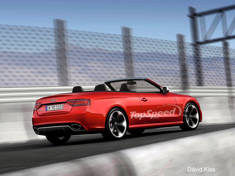 2013 Audi RS5 Cabriolet Exterior Computer Renderings and Photoshop - image 418318