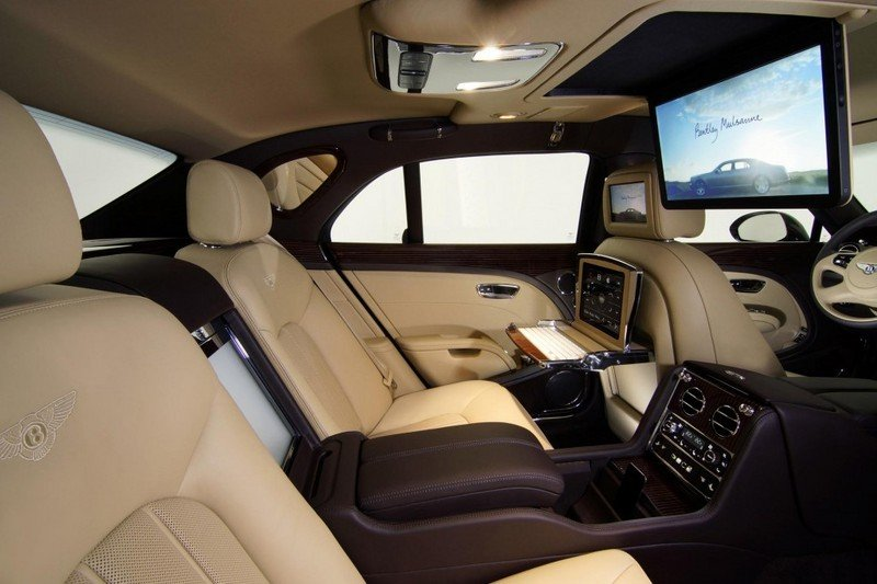 2011 Bentley Mulsanne Executive Interior Concept