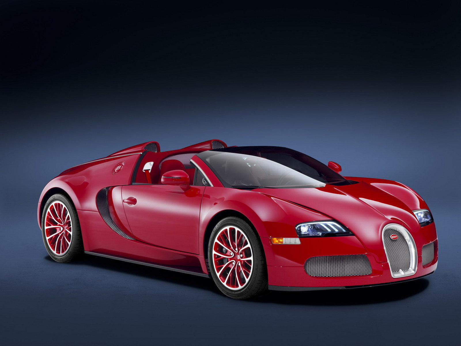 2011 bugatti veyron grand sport red edition picture. Black Bedroom Furniture Sets. Home Design Ideas