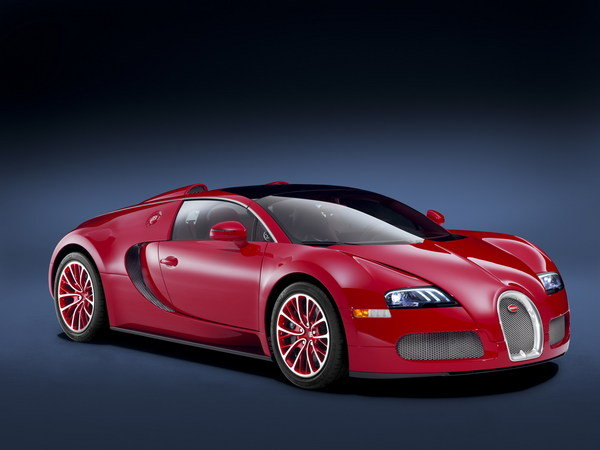 bugatti veyron grand sport red edition picture