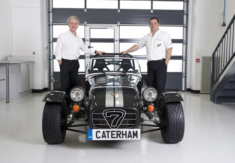Caterham launches new CTI standalone company; New models to follow