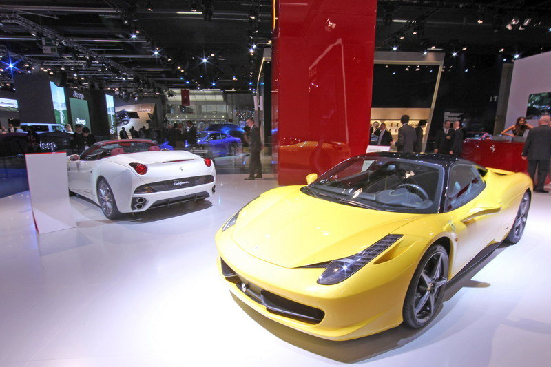 Ferrari launches Tailor-Made Programme in Frankfurt