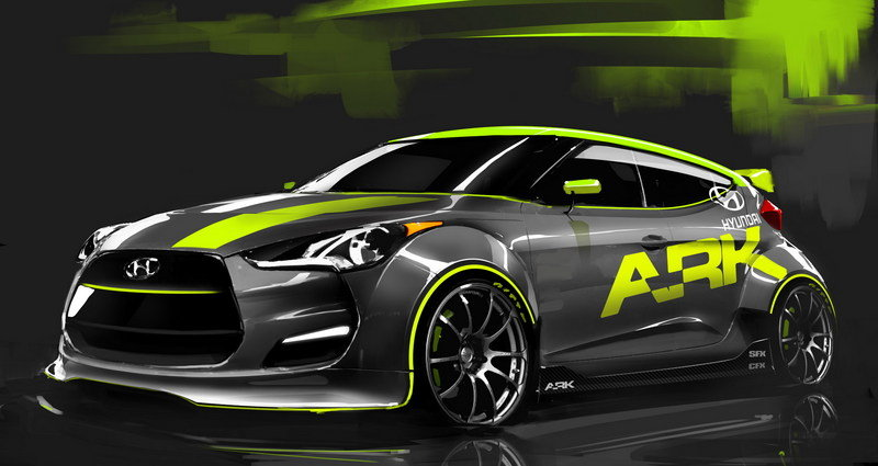 2012 Hyundai Veloster by ARK Performance Exterior Drawings - image 418832