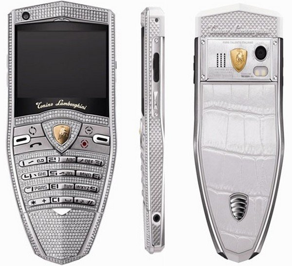 Lamborghini 30th Anniversary Spyder Supreme Diamond Phone