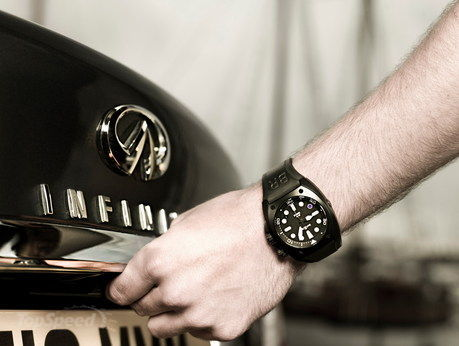 ... Ross has unveiled the limited edition BR02-8 Infiniti Carbon Case Purple ...