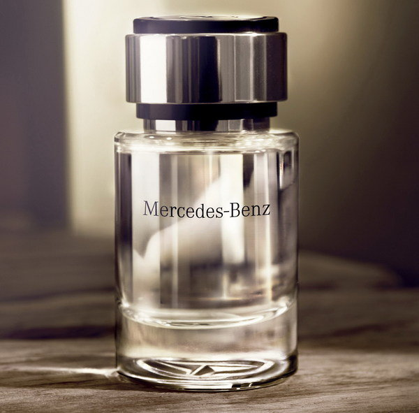 Mercedes benz perfume the first fragrance for men for Mercedes benz car perfume
