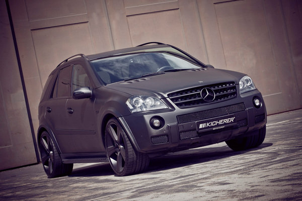 mercedes ml63 carbon series by kicherer picture