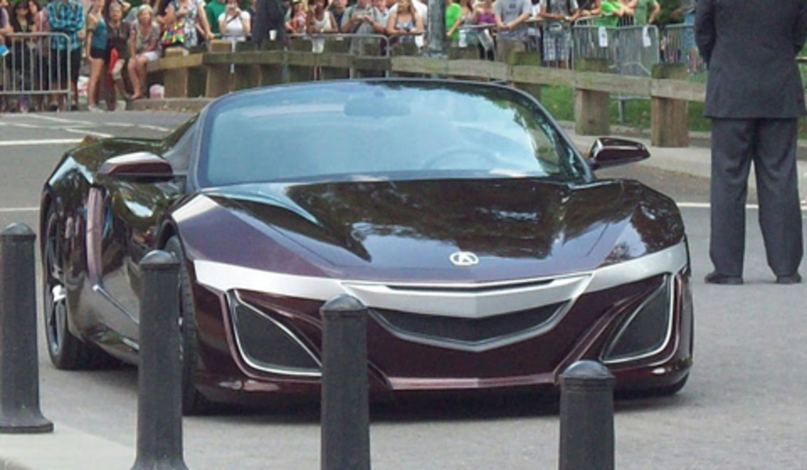 Mystery Acura Sports Car Spotted In Avengers Set News