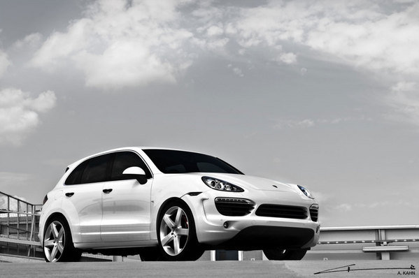 porsche cayenne vesuvius by project kahn picture