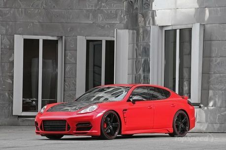Porsche Panamera Red Race Edition by Anderson Germany