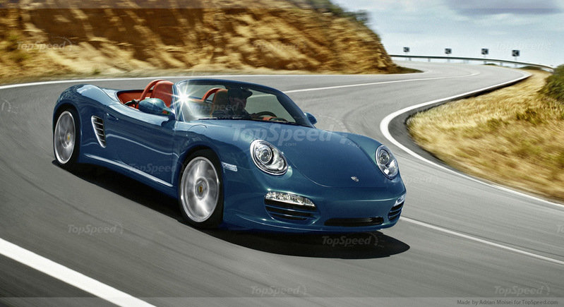 Porsche's next entry level models will use a new four-cylinder engine