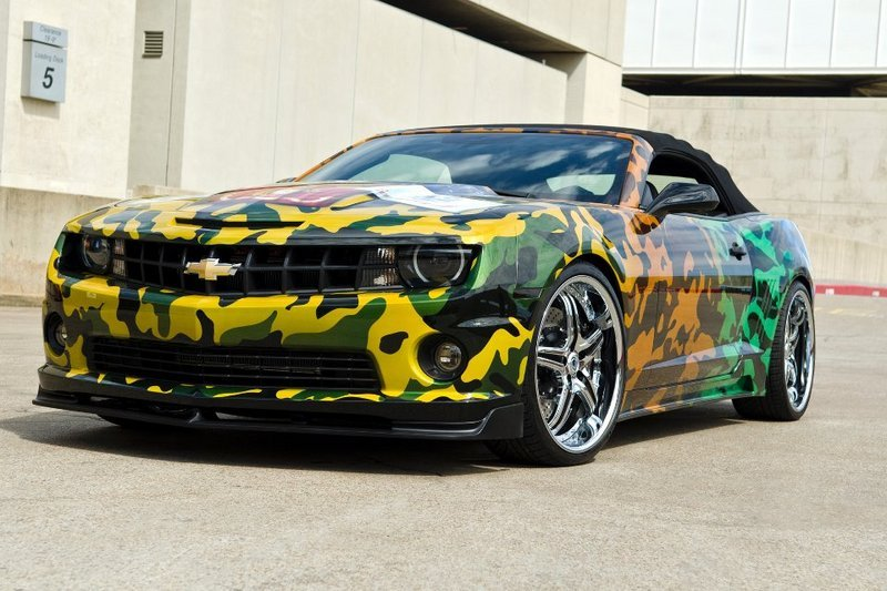 2011 Chevrolet Camaro Convertible By West Coast Customs