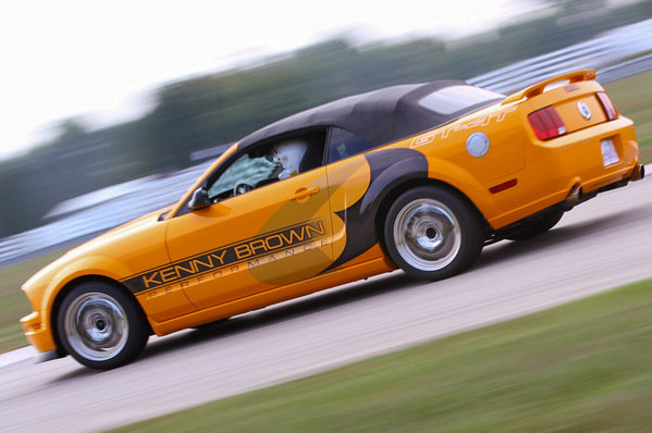 Ford Mustang GT-4T Mango Tango by Kenny Brown