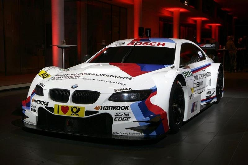2012 BMW M3 DTM Race Car
