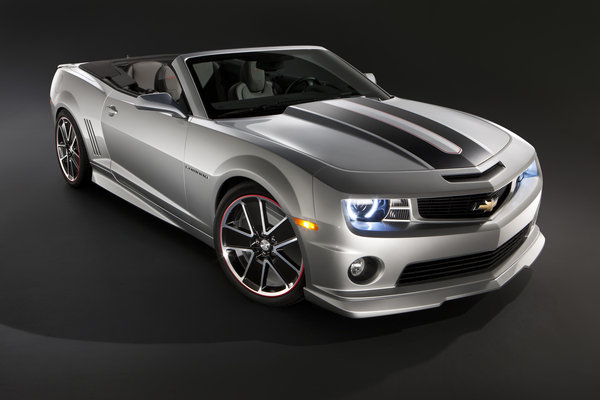 chevrolet camaro synergy series convertible picture