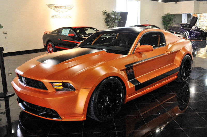 2012 Ford Mustang 'Boss 302-X' By Galpin Auto Sports | Top