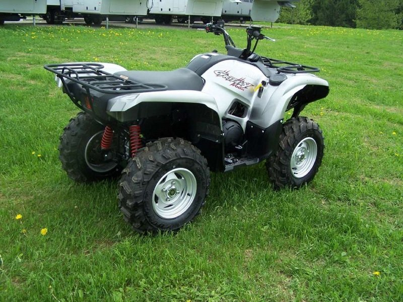 2012 yamaha grizzly 700 fi auto 4x4 eps special edition for Yamaha grizzly 800