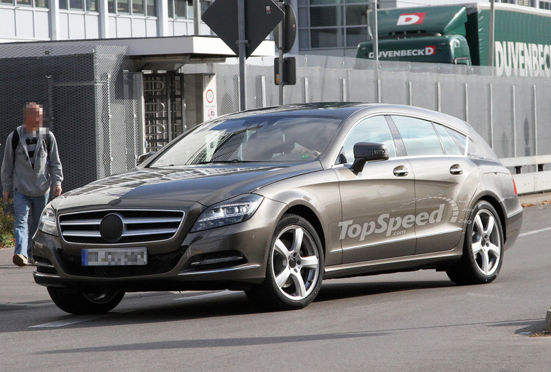 2013 - 2014 Mercedes-Benz CLS Shooting Brake Exterior Spyshots - image 422342