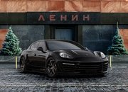 Porsche Panamera Stingray GTR with Crocodile and Gold Interior