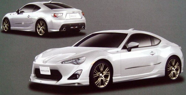 New Toyota Sports Car ft 86 Toyota Ft-86