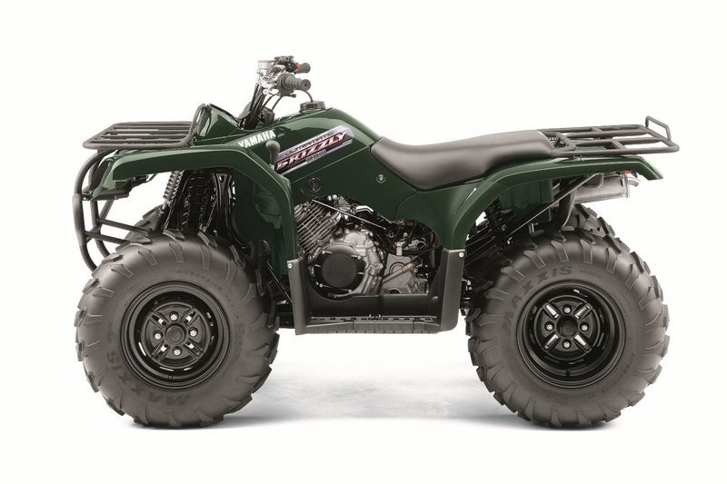 2012 yamaha grizzly 350 auto 4x4 review top speed for Yamaha 350 4x4