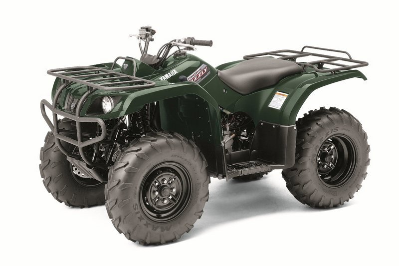 2012 YAMAHA Grizzly 350 Auto. 4x4 High Resolution Exterior - image 422217