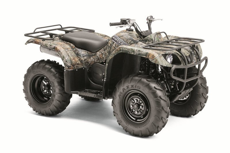 2012 YAMAHA Grizzly 350 Auto. 4x4 High Resolution Exterior - image 422209
